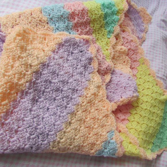 Handmade Other Homemade Crocheted Soft Newborn Gift Blanket Poshmark